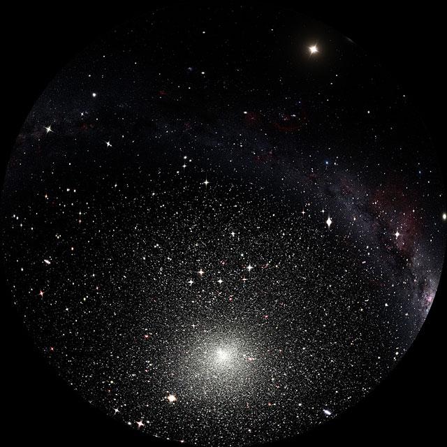 Globular cluster (fulldome artist's impression)