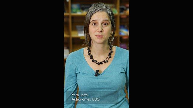 Yara Jaffé astrônoma da ESO