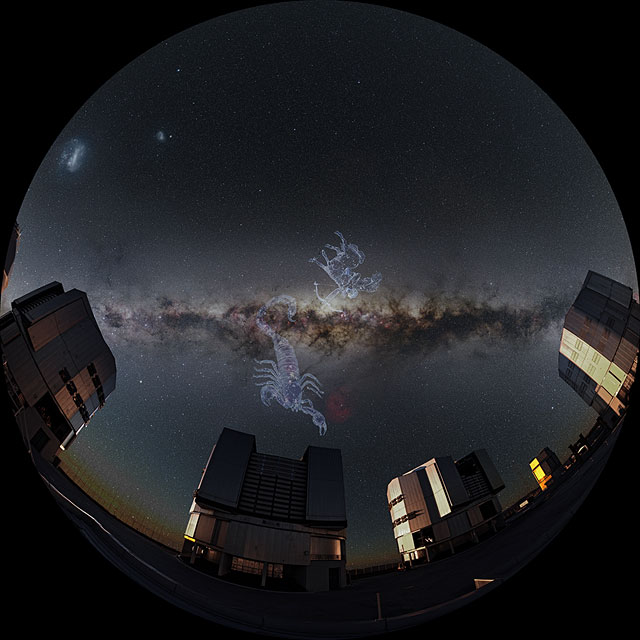 Zooming in to the Centre of the Milky Way (Fulldome)