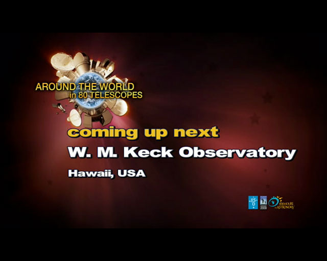 W. M. Keck Observatory (AW80T webcast)