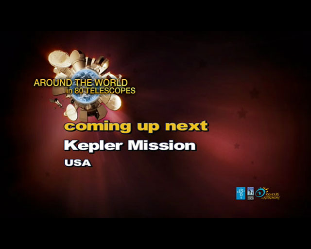 Kepler Mission (AW80T webcast)