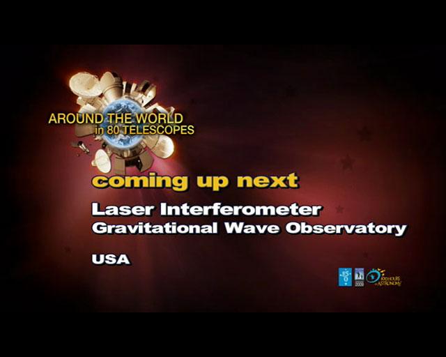 LIGO (AW80T webcast)