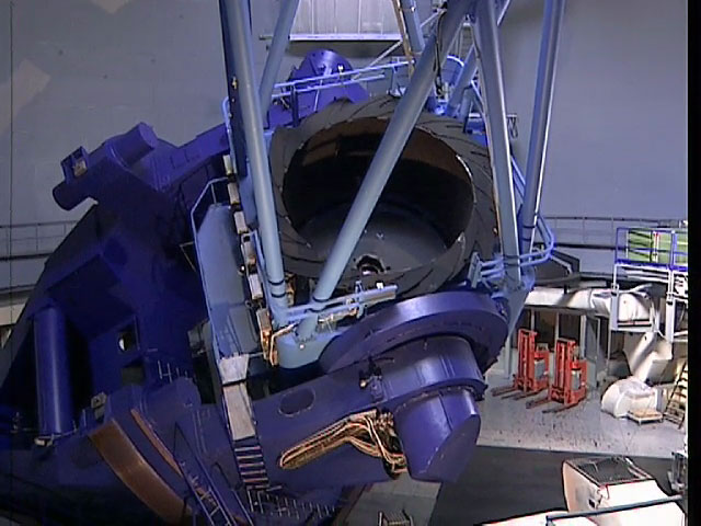 The ESO 3.6-meter telescope