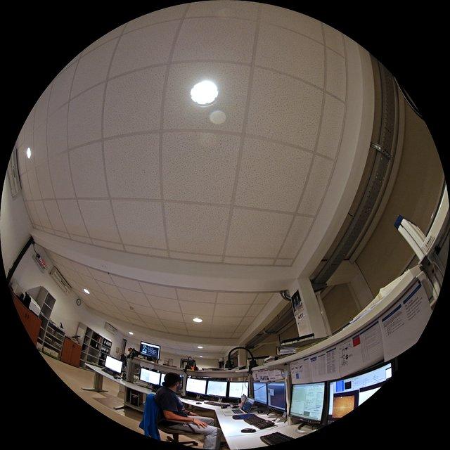 Control room at La Silla