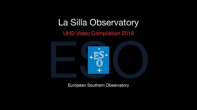 ESO's La Silla telescopes in 2016