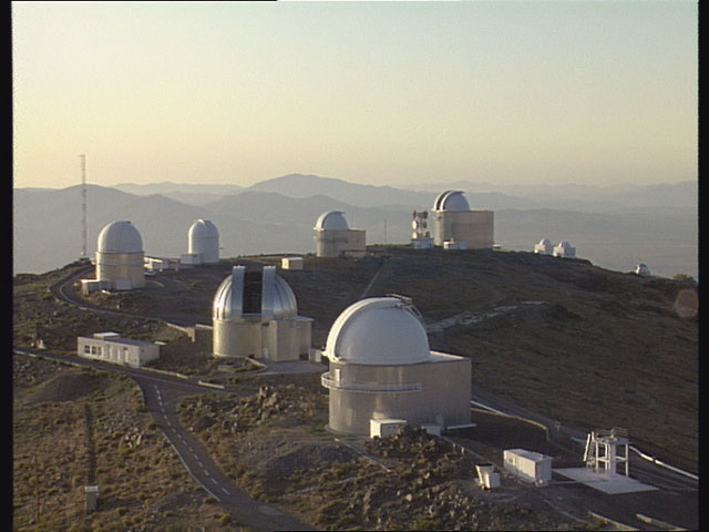 MPG/ESO 2.2-metre telescope in 1992 (part 1)