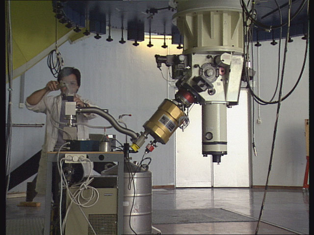 La Silla 2.2m Telescope in 1992 (Part 6)