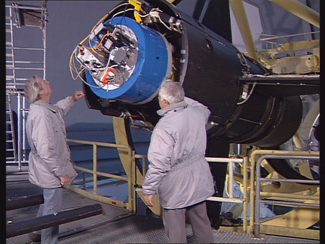 ESO 3.6-metre telescope in 1992 (part 11)