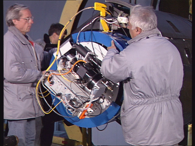 La Silla 3.6m Telescope in 1992 (Part 12)