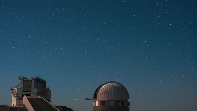 La Silla time-lapse — Swiss 1.2-metre Leonhard Euler Telescope and NTT