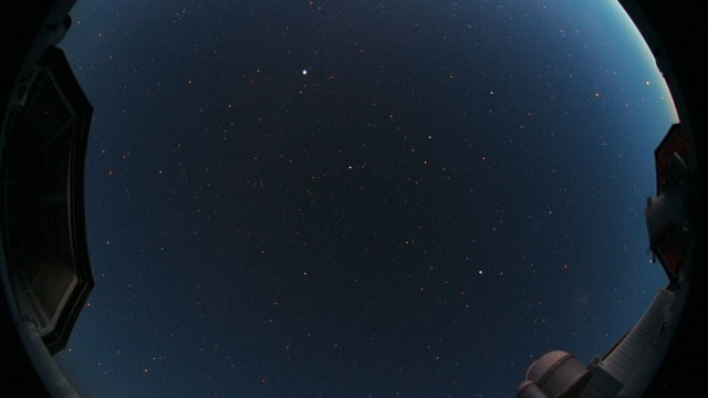 A Fish-eye time-lapse on La Silla (1)
