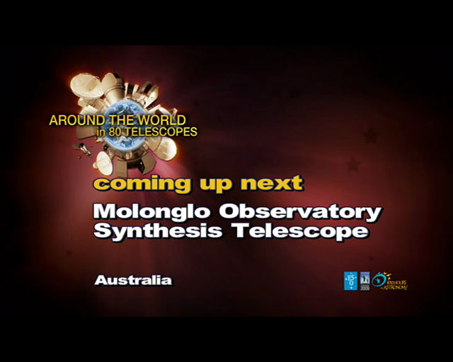Molonglo Observatory (AW80T webcast)