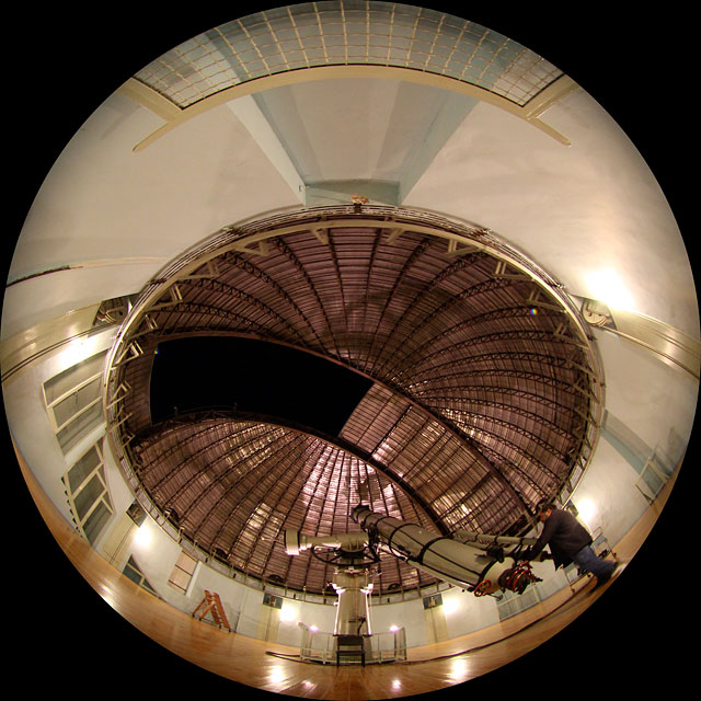 Penteli Newall Telescope in action
