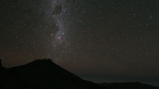 A whole night on Paranal Time-lapse