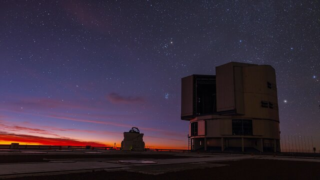 The VLT at Dusk
