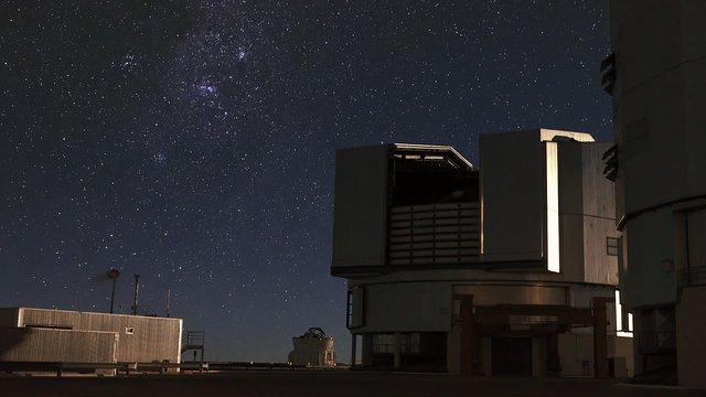 Moonlit VLT dome