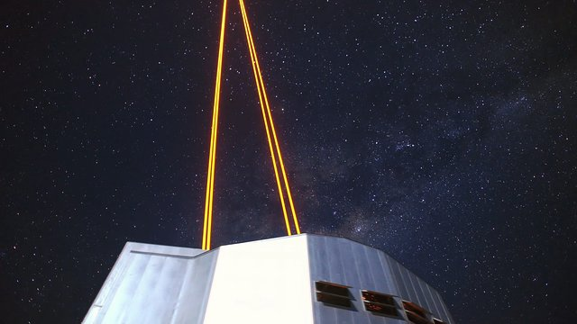 Lasers and the Milky Way