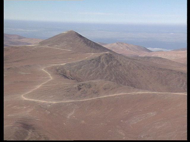 Paranal aerial view 1991 a