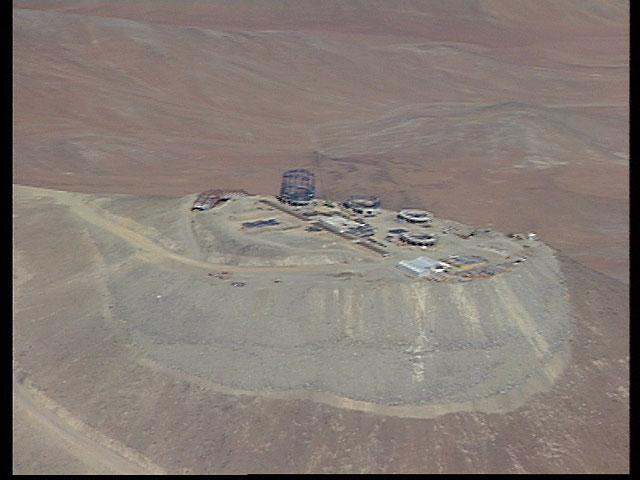 Paranal aerial view 1996a