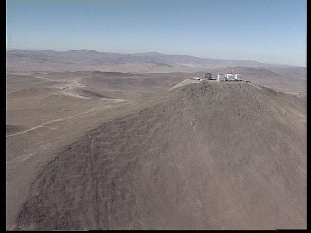 Paranal aerial view 1997a