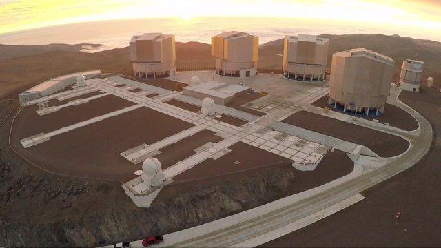 Paranal aerial view