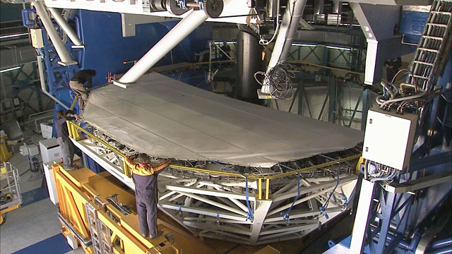 Mirror recoating at the Very Large Telescope (part 11)
