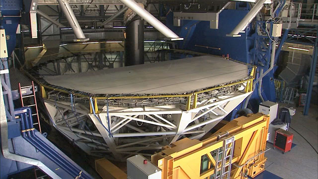 Mirror Recoating at the Very Large Telescope (part 13) (Time-lapse)