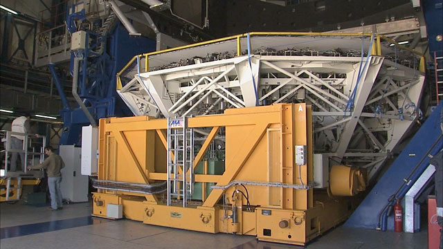 Mirror Recoating at the Very Large Telescope (part 19)
