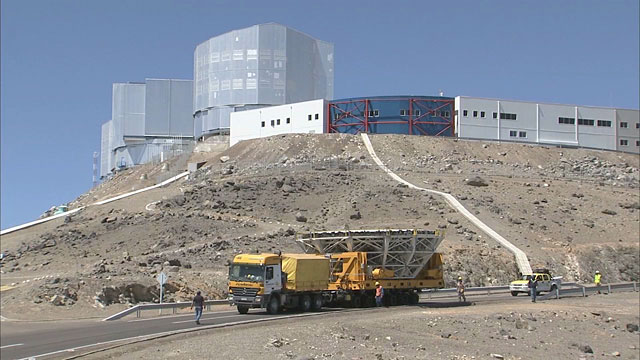 Mirror recoating at the Very Large Telescope (part 26)