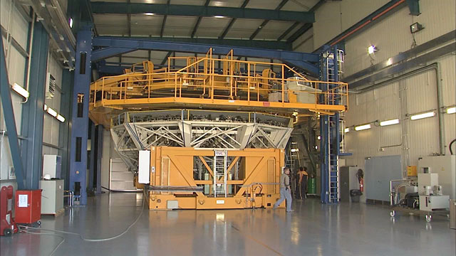 Mirror recoating at the Very Large Telescope (part 31)