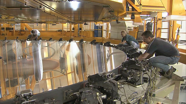 Mirror recoating at the Very Large Telescope (part 32)