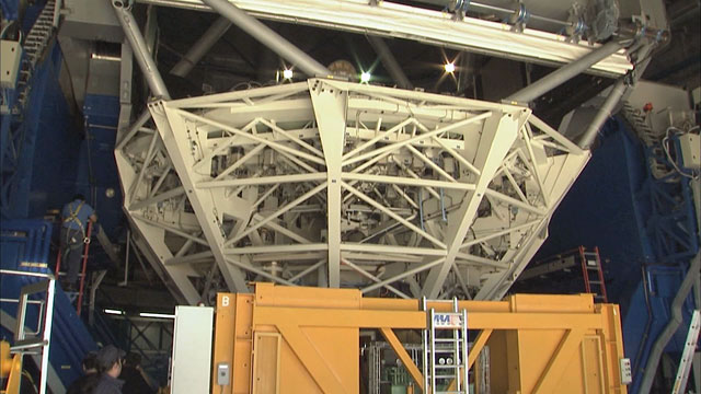 Mirror recoating at the Very Large Telescope (part 7)