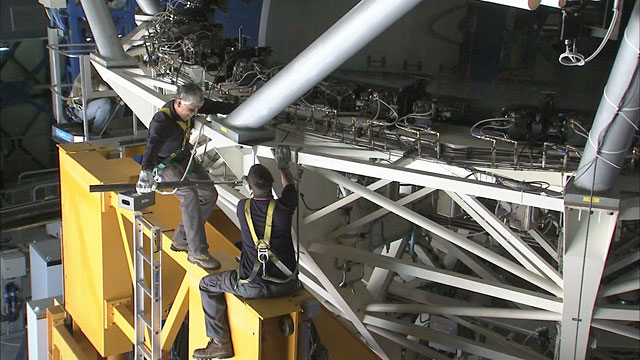 Mirror recoating at the Very Large Telescope (part 8)