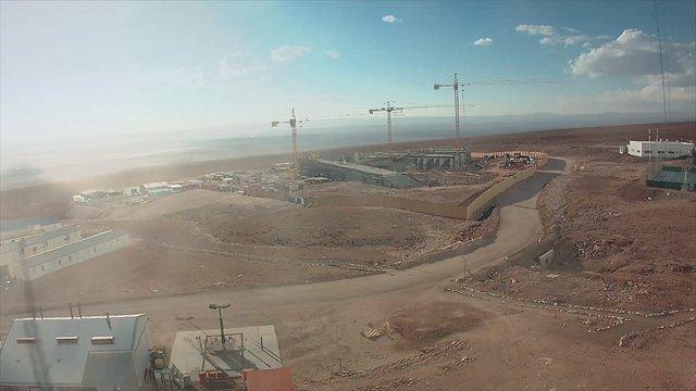 Bau der ALMA-Residencia im Zeitraffer