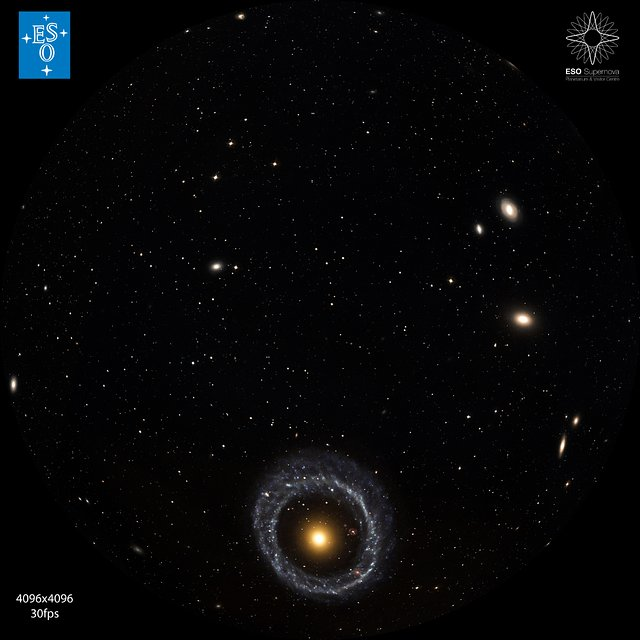 Hoag's Object — a ring galaxy (fulldome)