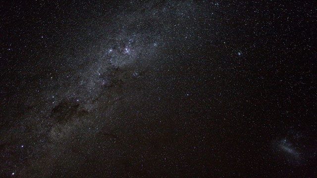 The Southern Milky Way band (time-lapse)