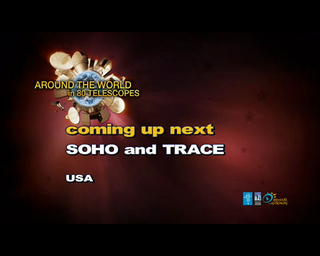 SOHO and TRACE (AW80T webcast)