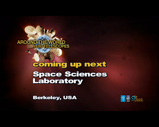 Space Sciences Laboratory (AW80T webcast)