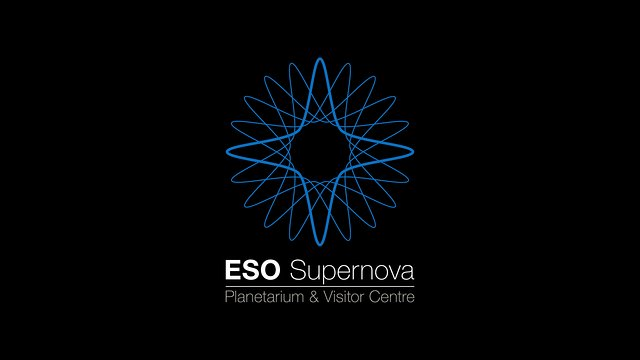 ESO Supernova Planetarium & Visitor Centre logo animation