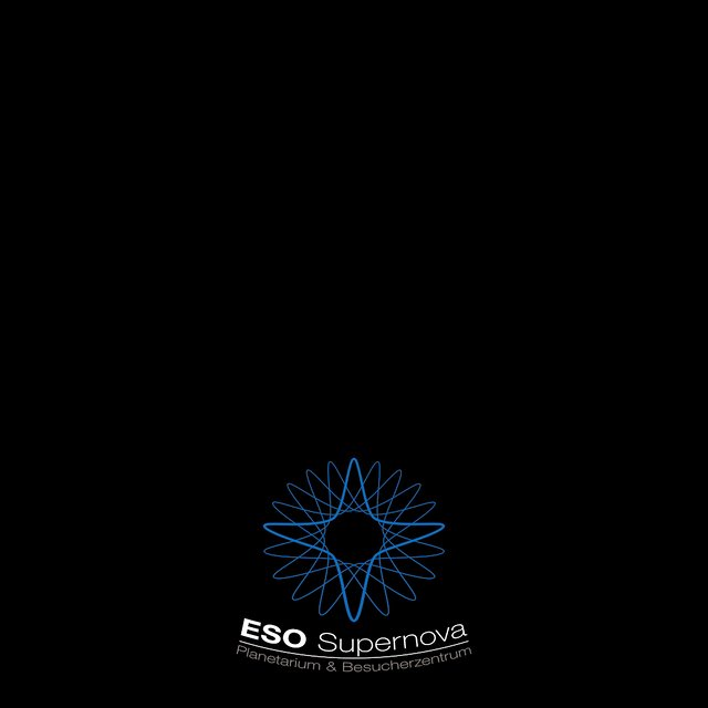 ESO Supernova Planetarium & Visitor Centre logo animation fulldome (German)