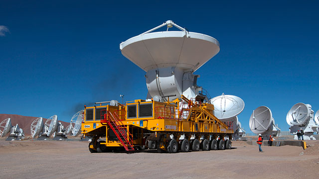 ALMA Transporter in Action