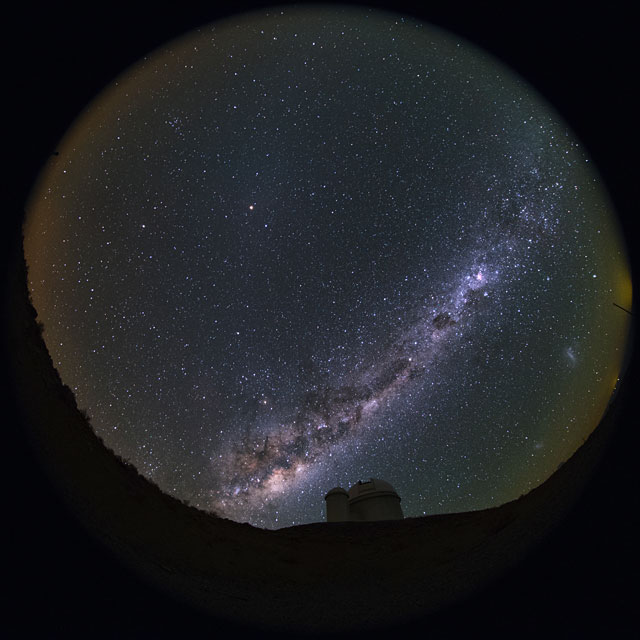 La Silla Fish-eye view