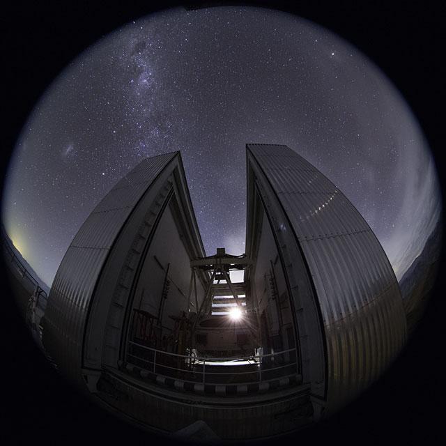 UHD NTT Fulldome Time-lapse