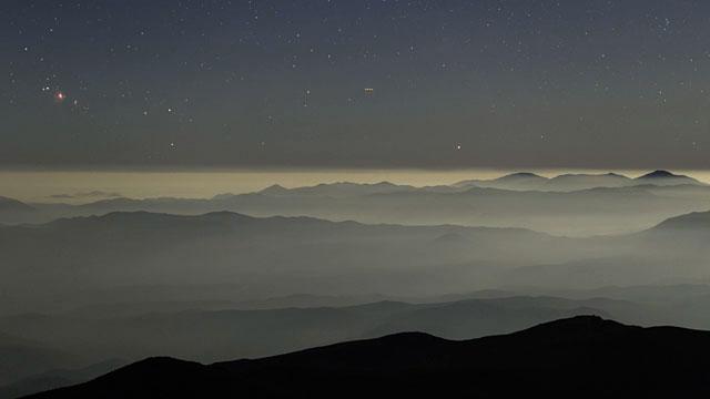 La Silla cloudscape