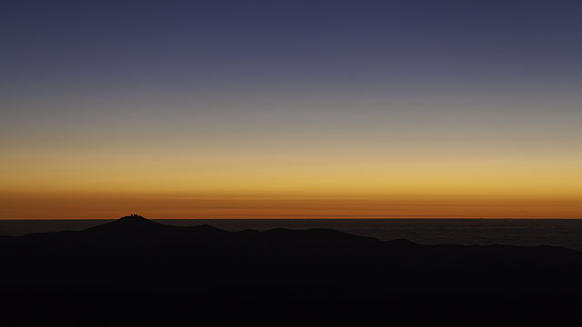 Sunset over Paranal in UHD time-lapse