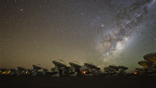 Ultra HD time-lapse of ALMA