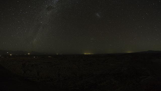 El Valle de la Luna UHD time-lapse