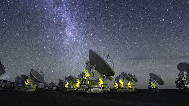 ALMA Antenna Dance