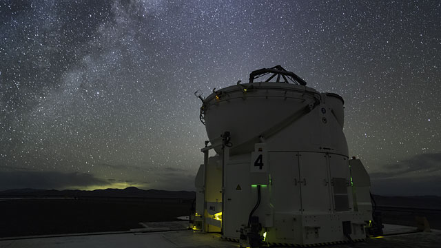 Auxiliary Telescope at work at Paranal