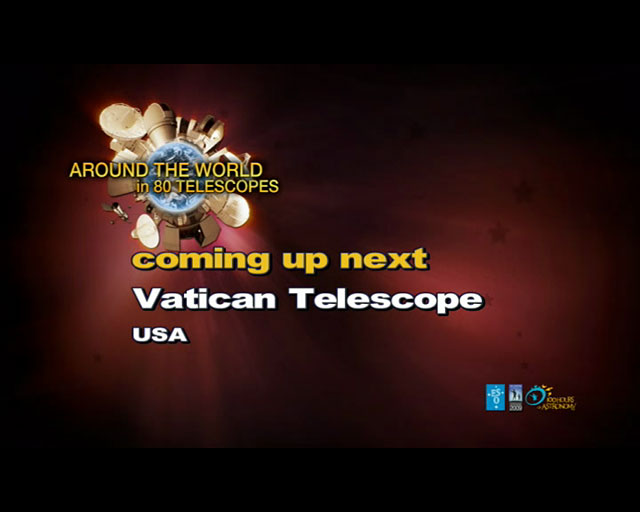 Vatican Observatory (AW80T webcast)